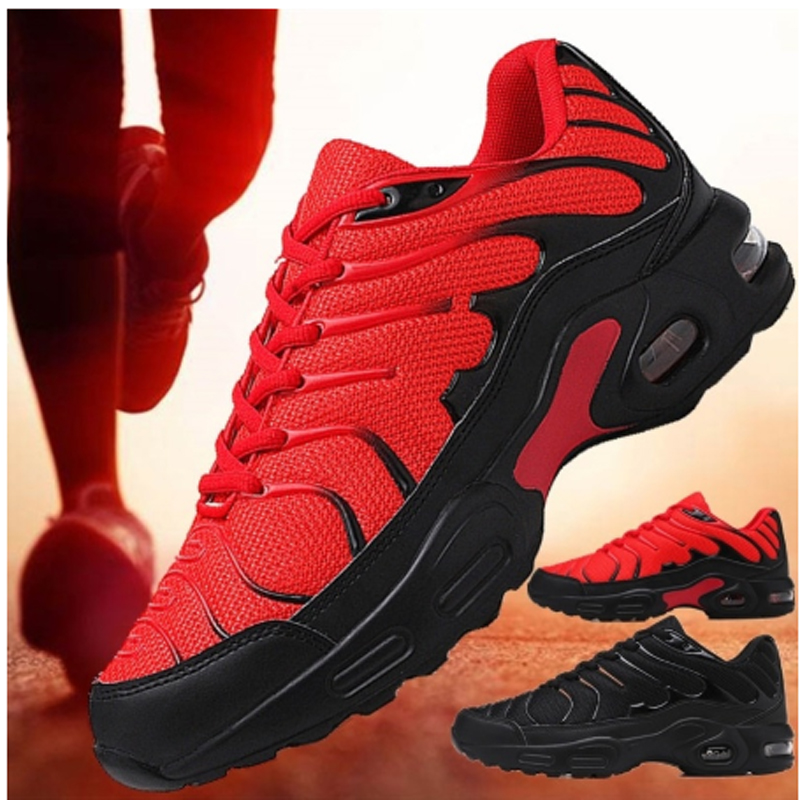 New Blade Running Shoes For Men Breathable Mesh Sneakers Antiskid Damping Outsole Athletic Sport Shoes Training Run Zapatills