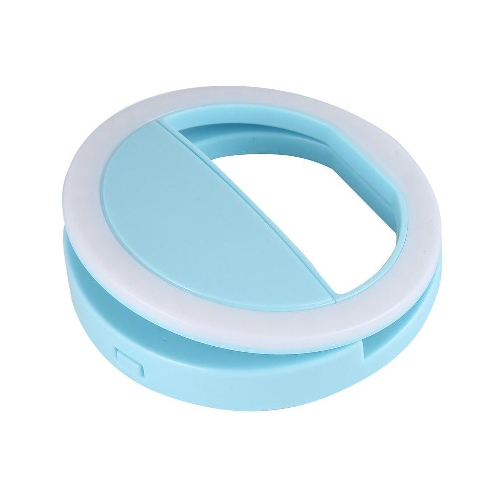 Ultra Wide Angle Upgrade Len Light Portable Universal Selfie Ring Lamp Macro Fill Light HD Mobile Lens