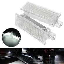 2 шт. светодиодный подвесной светильник под дверь 63316972605 для BMW E60 E87 E70 E90 E92 E63 E65 E85 M3 MINI Z4 R50 R52 R53