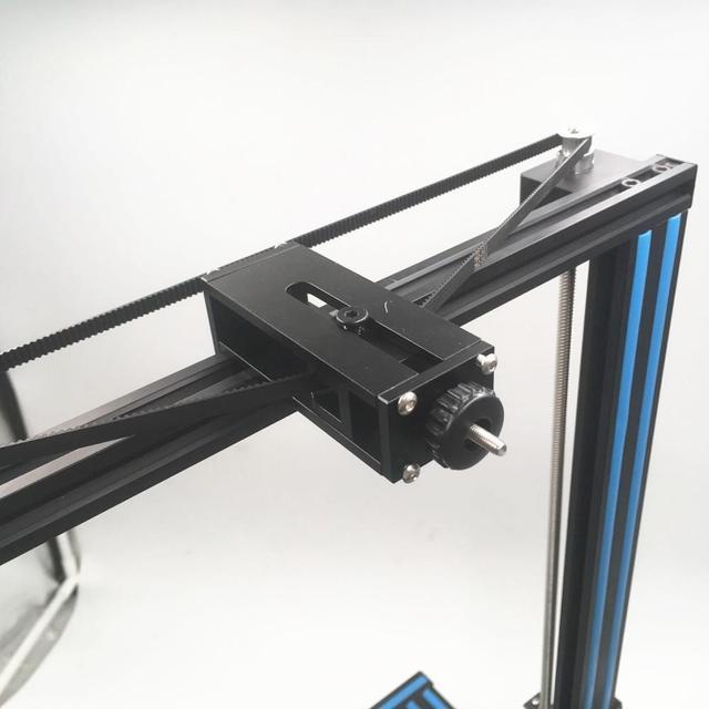 Двойной натяжитель ремня Creality Ender 3 CR 10 /10s, синхронизатор ремня с вертикальными осями, алюминиевый сплав, для модернизации Creality, двойной натяжитель ремня по вертикальной оси