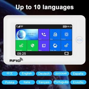 Image 3 - Awaywar نظام إنذار يدعم واي فاي و GSM لحماية المنزل الذكي لص متوافق مع Tuya IP Camrea