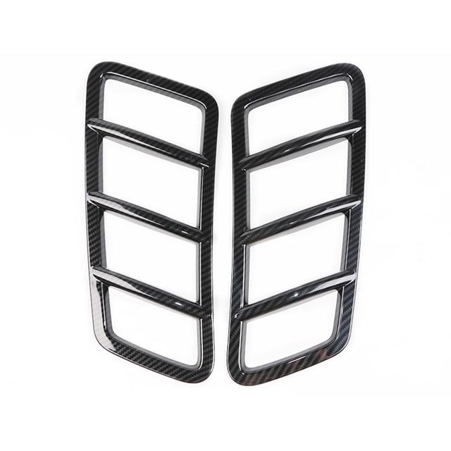 Car Hood Engine Air Outlet Frame Cover Carbon Fiber Accessories For Mercedes Benz GLE ML 2012-2019 / GL GLS 2013-2019 / W166 5