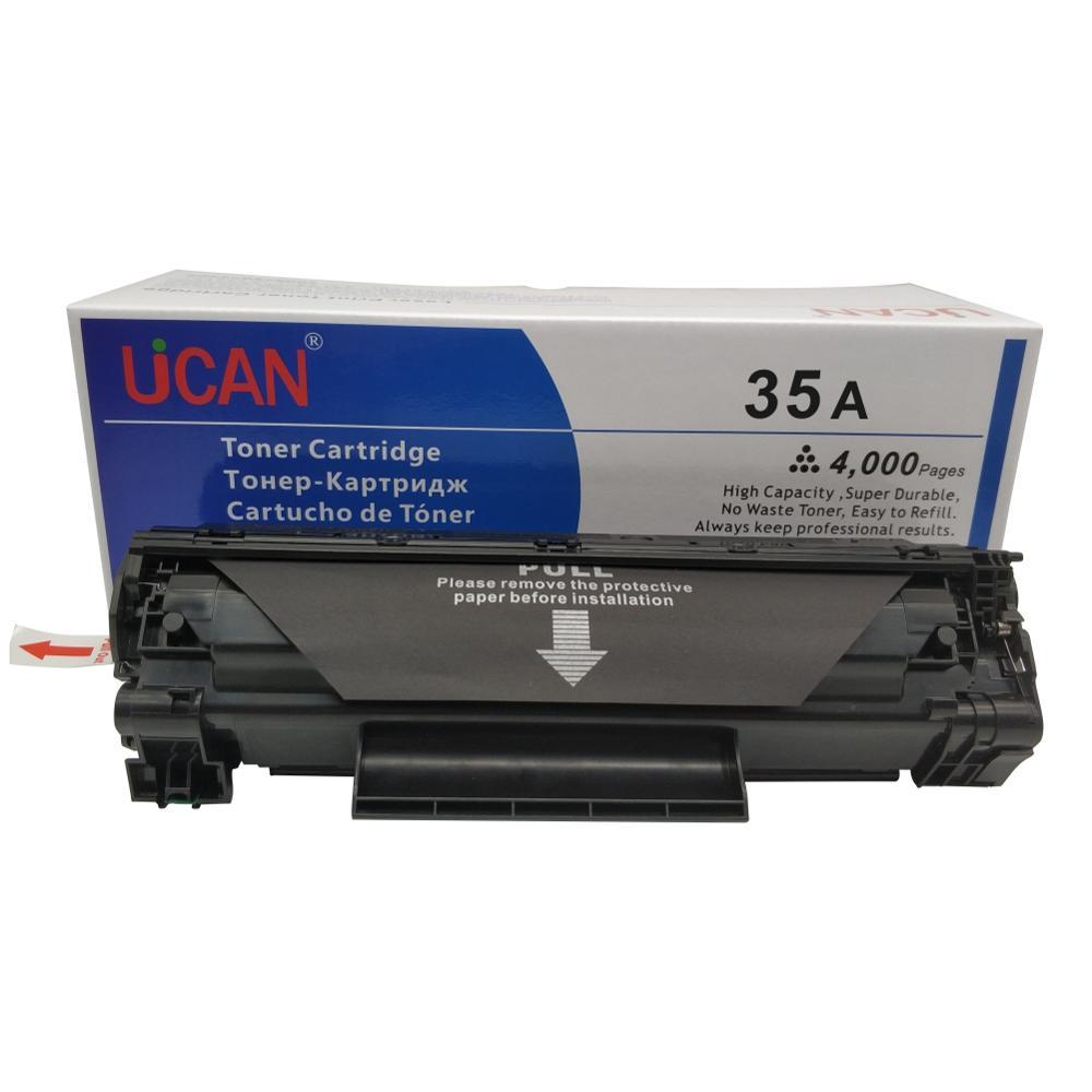 4000 pages UCAN 35a Cartouches De Toner pour HP 435a CB435a LaserJet P1005 P1006 P1009 P1002 P1003 P1004 Imprimante