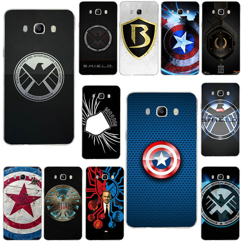 Fashion <font><b>Marvel</b></font> Shield <font><b>Logo</b></font> Soft <font><b>Cases</b></font> For <font><b>Samsung</b></font> <font><b>Galaxy</b></font> Note 2 3 4 5 8 9 10 A10 A20 <font><b>A30</b></font> A40 A50 A60 A70 A80 A90 image