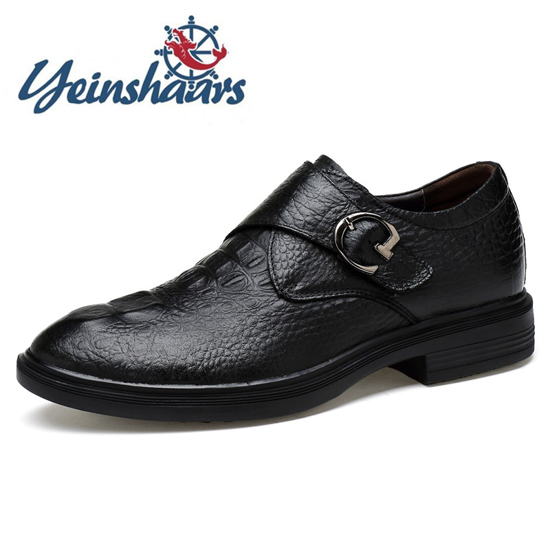 2020 Mens Shoes Genuine Leather Casual Natural Shoes Flats Round Toe Comfortable Work Men Dress Shoes Fashion  Plus Size 47 48