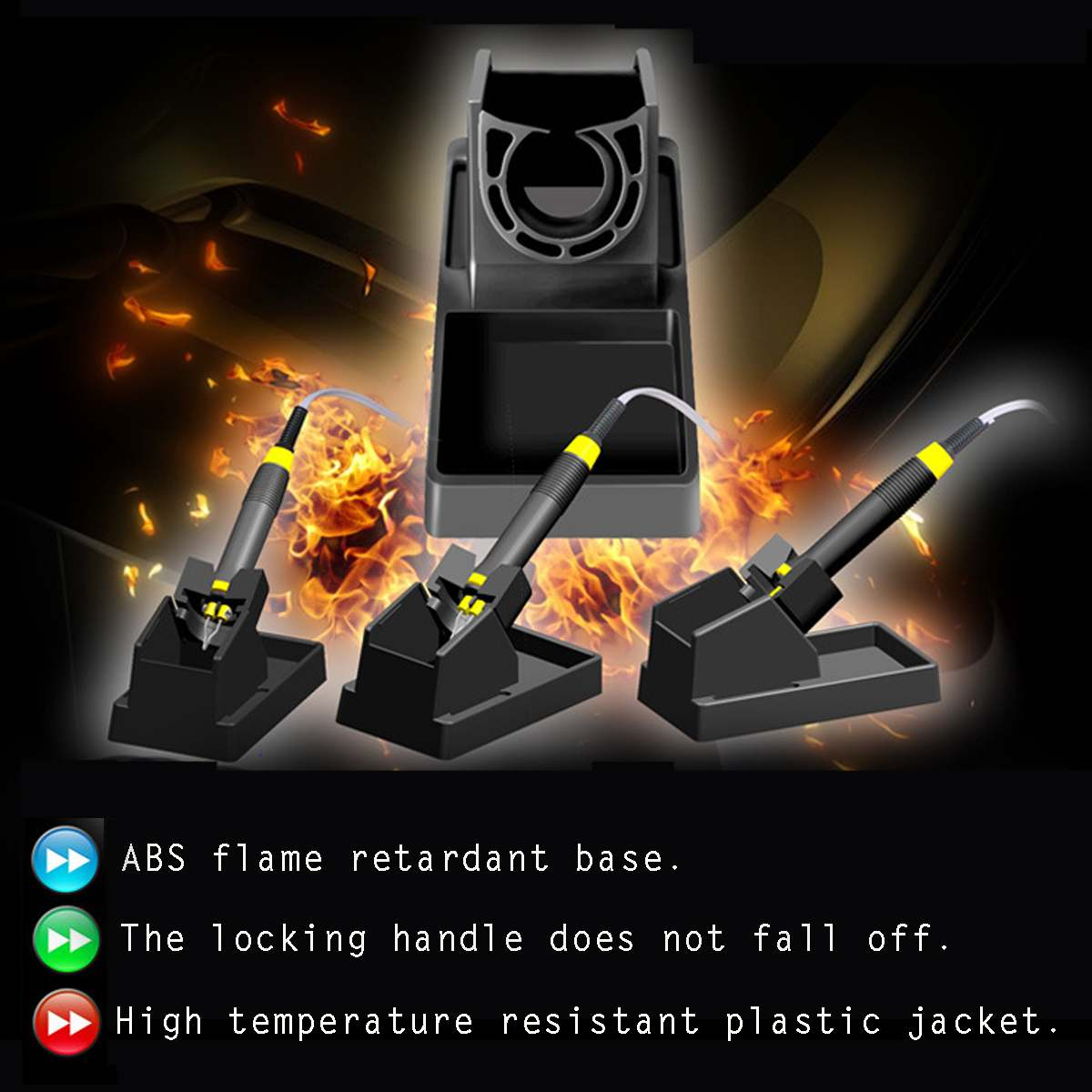 Tools : 60W Pyrography Machine Wood Burning Adjustable Temperature Burner Wood Cautery Pyrography Pen Gourd Crafts Tool Set