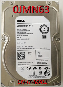 "Pulled 0JMN63 JMN63 ST33000650NS 3TB 7200 RPM SATA 6.0Gb/s 3.5"" Internal Hard Drive"
