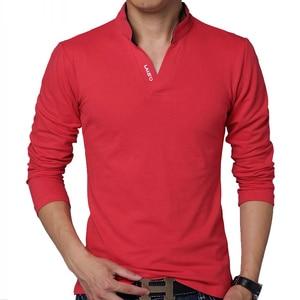 Image 3 - Legible Mens Polo Shirt High Quality Solid Men Cotton Short Sleeve shirt Brands Summer Camisas  polo Shirts Men 4XL 5XL