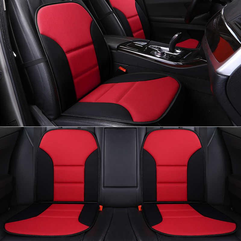 التغطية الكاملة الكتان الألياف غطاء مقعد السيارة مقاعد السيارات يغطي لتويوتا 4 عداء 86 ألفار ألتيس أفالون كامري سيليكا CH-R كورولا