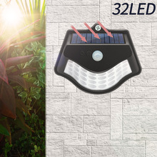 New Solar Body Sensor Light Solar Highlight Wall Light Outdoor Garden Courtyard Lighting Fence Stair Light Wall Wall Light 76 core cob white light pir human body sensing wall light solar sensor corridor light for garden outdoor courtyard lighting