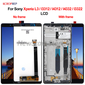 "Image 1 - For Sony Xperia L3 I3312 I4312 I4332 I3322 LCD Display Touch Screen Digitizer Assembly 5.7"" Replacement Parts For Sony L3 lcd"