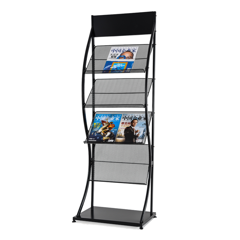 Magazine Rack, Book Rack, Landing Display Rack, Advertising Materials, Brochure, Newspaper Rack