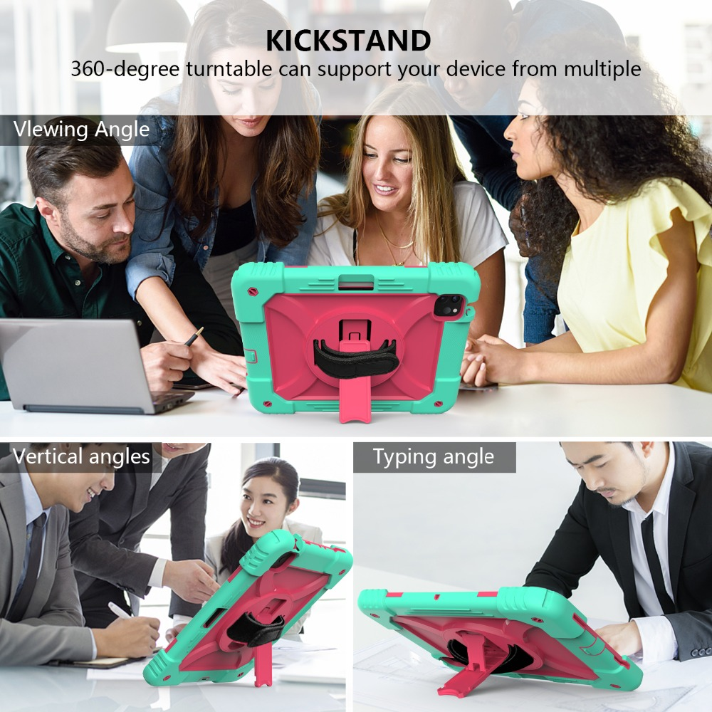 Shockproof Kids Armor For Tablet 4 iPad Hybird Air Case for 2020 Case iPad Layers 3 10.9
