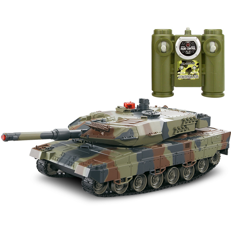 Huanqi 516 Infrared Remote Control Battle Tank Toy Car Model Educational Early Childhood Electric Children Birthday Boy