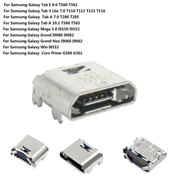 For Samsung Galaxy Tab 3 Lite 7.0 T110 T111 T280 T560 T580 I9082 I9060 I9152 I8552 G360 Charge Charging Port Socket Connector