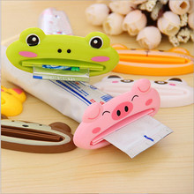 1pcs Cute Animal multifunction squeezer / toothpaste Home Commodity Bathroom Tube Cartoon Toothpaste Dispenser A3071
