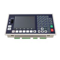 4 axis CNC Motion Controller TC55H Stand Alone Servo Stepper USB Spindle G Code 400KHz MPG With 3.5 Inch Color LCD