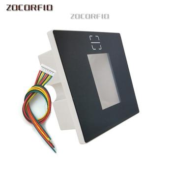 QR Code RFID Reader USB NFC Wiegand 26/34 reader for access control system Automatic Sensing yongkaida 13 56mhz rfid usb bluetooth rfid reader acr1255u j1 nfc reader