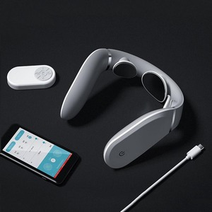 Image 3 - Massager cervical g2 dez pulso proteger o pescoço apenas 190g duplo efeito compressa quente em forma de l usar trabalho para mijia app