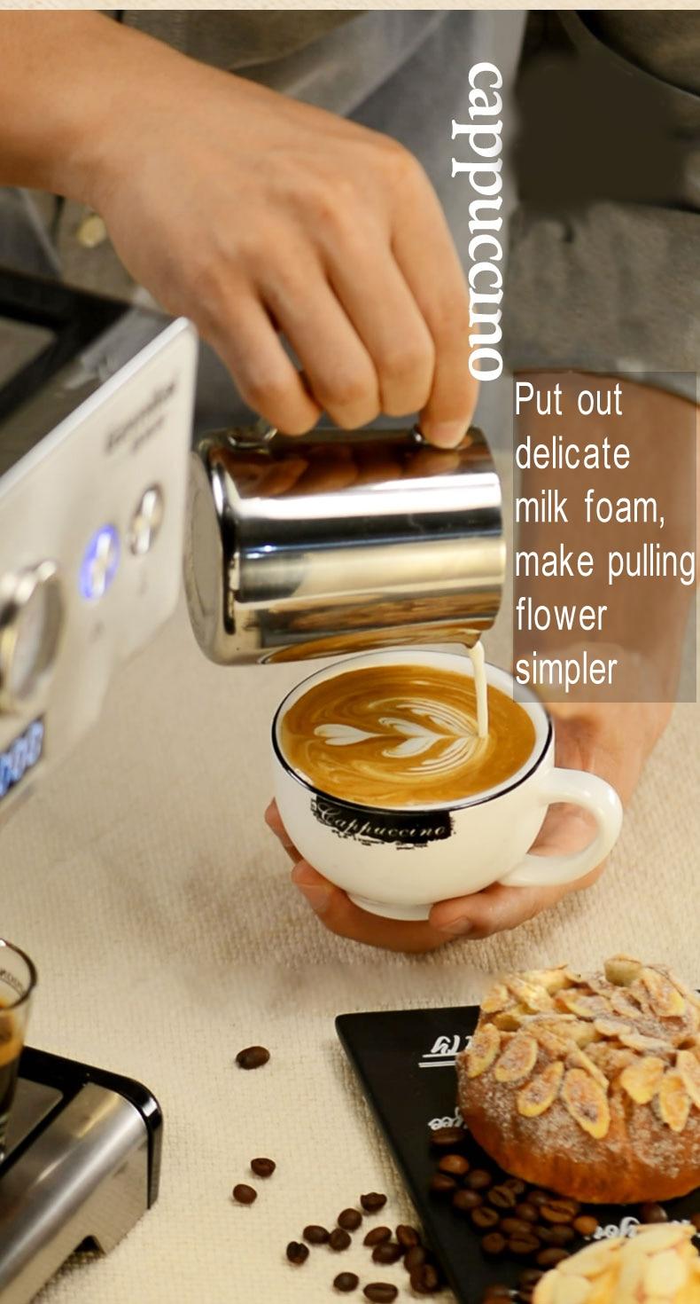 15 Bar Italian Semi-automatic Espresso Coffee Maker