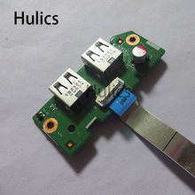 Hulics Original Für Dell Inspiron 3520 laptop USB Port Board w/Kabel DV15 USB Board 10963-3(China)