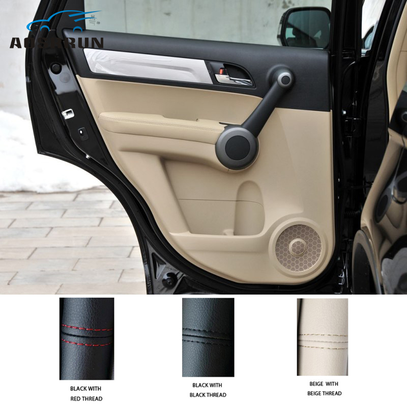 For Honda CRV CR-V 2007 2008 2009 2010 2011 Car Accessories Microfiber Leather Armrests Protection Car-styling