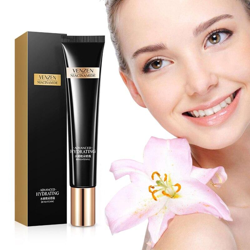 VENZEN Hot Sale Refreshing Moisturizing Eye Cream Moisturizing To Dark Circle Eye Bag Moisturizing Eye Cream Eye Care TSLM1