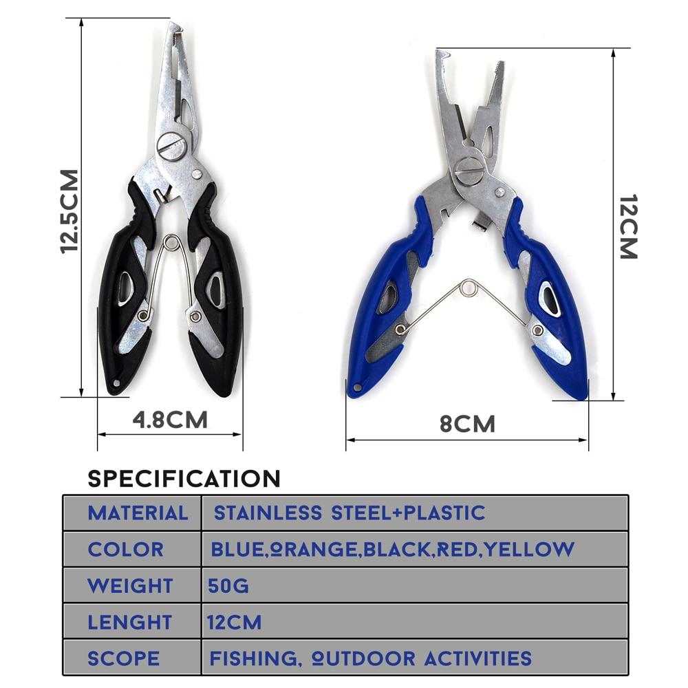 Fishing Plier Scissor Braid Line Lure Cutter Hook Remover etc. 1