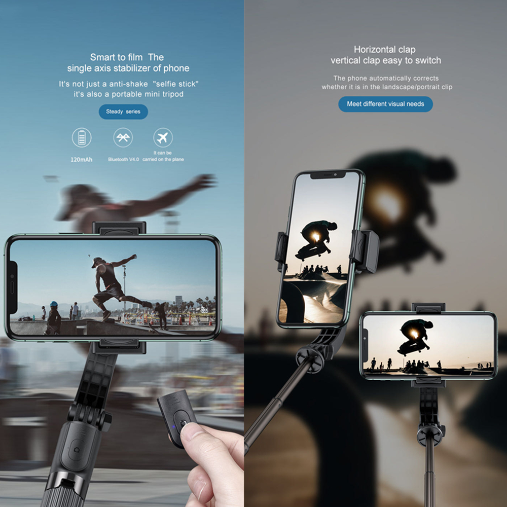 86cm Desktop mobile phone Bluetooth selfie stick self-timer artifact Live anti-shake bracket