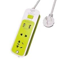 Au plug power strip usb multi função soquete de cabo portátil doméstico adaptador de viagem extensão tomada de alta potência placa terminal