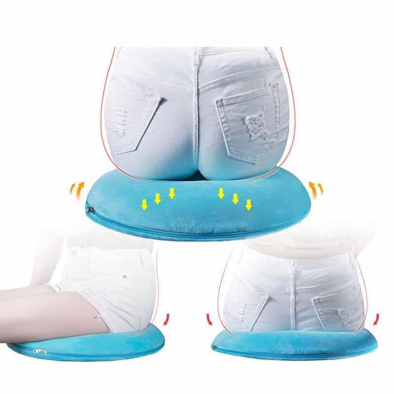 Gomma Piuma di memoria Ortopedico Booster Cuscino del Sedile Sedia da Ufficio Auto cuscino di Massaggio Pad Divano Sgabello Rotondo Materasso