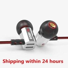 KZ ED9 in ear Earphones Original Earphone HIFI DJ Earplug With MIC ED12 ES3 ES4 ZST AS10  ZS3 ZS6 ZSN zst zsr ate zse