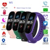 2021 New Fashion M5 Smart Watch Men Women Heart Rate Monitor Fitness Tracker Pedometers Smartwatch Band Sport Watch For Gift