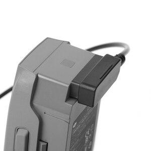 Image 2 - Mavic 2 carregador de carro duplo carregador de bateria com usb carregador de carro carregador remoto para dji mavic 2 pro zoom zangão bateria charg