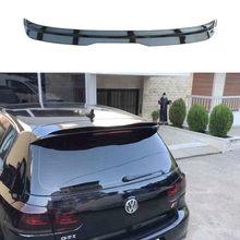 цена на for Volkswagen GOLF 6 MK6 GTI spoiler 2010-2013 GOLF 6 spoiler high quality ABS material car rear wing color rear