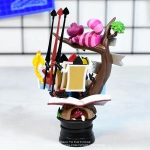 Image 2 - Disney Alice in Wonderland prinses 16cm Action Figure Anime Mini Decoratie PVC Collection Beeldje Speelgoed model voor kinderen gift