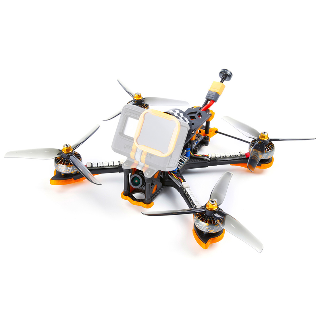 IFlight Cidora avance SL5 5 pouces 215mm plein 3K Fiber de carbone FPV Freestyle Drone w/F7 TwinG Bluetooth 50A 4in1 ESC pile