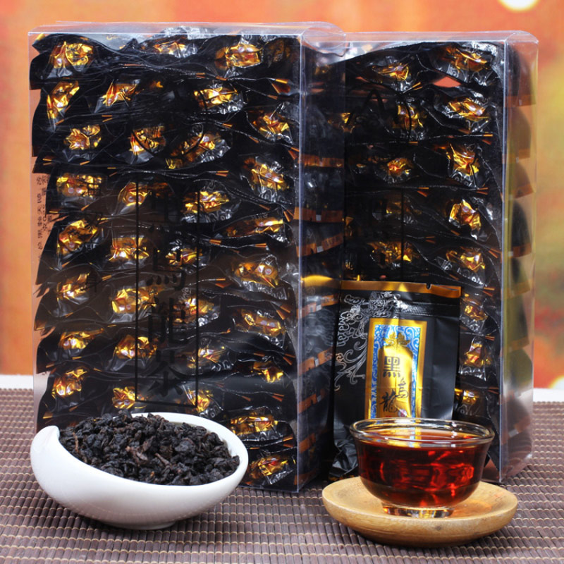 Black Oolong Tea Charcoal Techniques Health-preserving Tea Weight-loss, Body-thinning and Beauty-preserving Tea 250g 500g