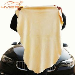 Car Wash Deerskin Towel Plus Auto Cleaning Care Paint Cleaner Polishes Extra Large Grinding Materials Polishing Genuine Leather