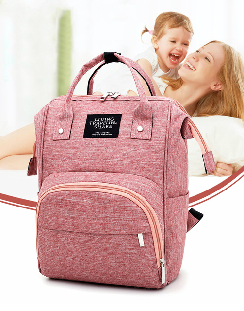 Large Capacity Baby Nappy Changing Diaper Mummy Bag Maternity Backpack Bags Mum Bag Stroller Baby Care Waterproof Backpack GYH