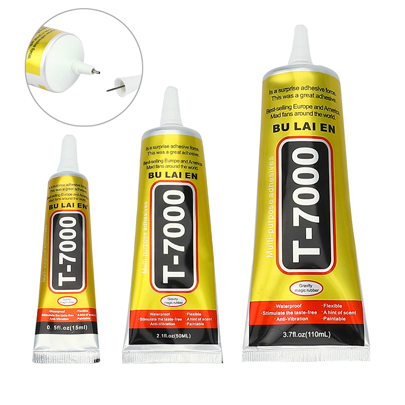 15/50/110ml T7000 Adhesive Epoxy Resin Glue Multi Purpose Glue DIY Crafts Glass Screen Cell Phone Jewelry Tools