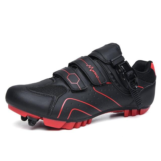 Mtb sapatos de ciclismo homem esporte ao ar livre sapatos de bicicleta auto-bloqueio profissional de corrida de estrada sapatos zapatillas 2