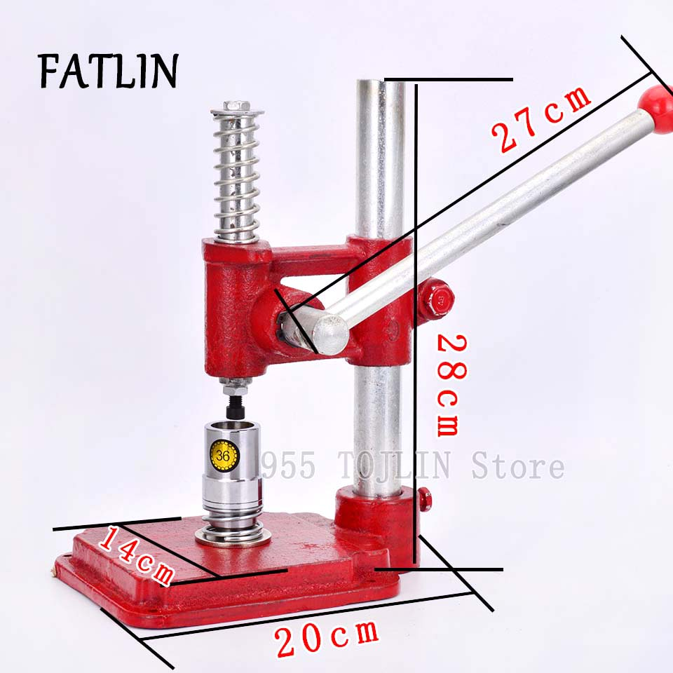 Fabric Covered Button Machine Making Button Handmade Button Tool For Fabric Covered Apparel Machinery Parts