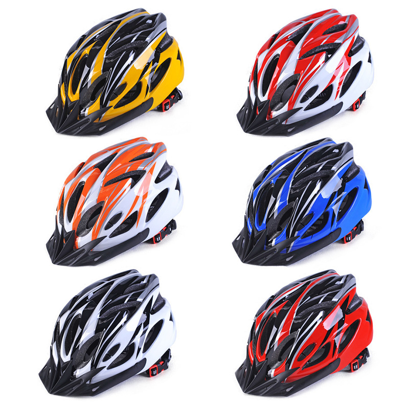 Bicycle Racing Cycling Helmet Intergrally-molded MTB Bicycle Helmet Outdoor Sports Mountain Road Bike Helmet Riding Safely Cap