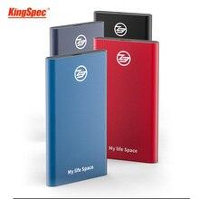 KingSpec SSD แบบพกพาฮาร์ดดิสก์ไดรฟ์ 1TB SSD Solid State Disk USB 3.1 ประเภท c Usb 3.0 hd externo 1 T สำหรับเดสก์ท็อป