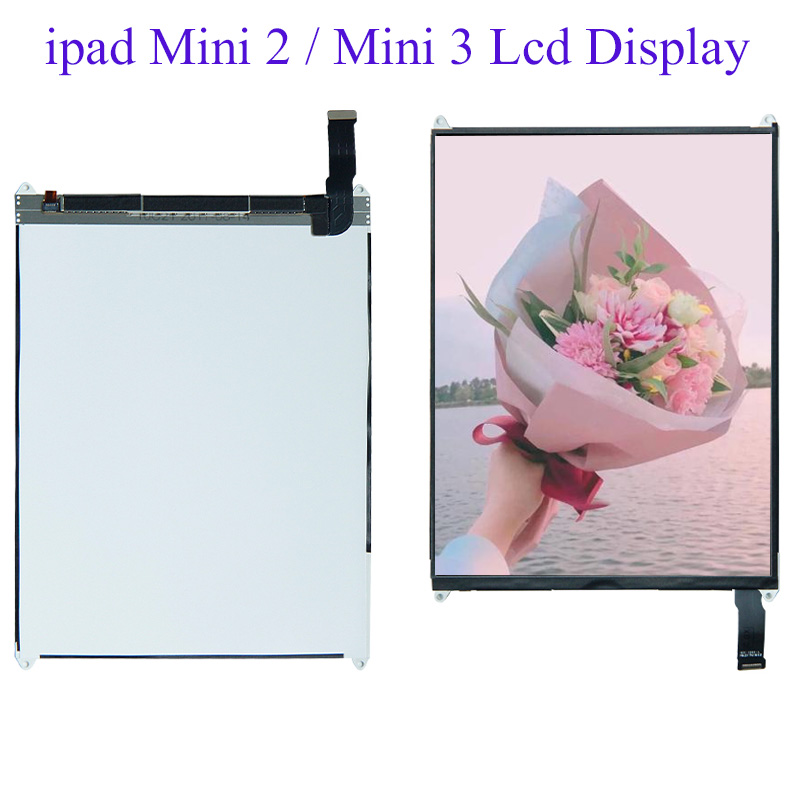 7.9''LCD For <font><b>iPad</b></font> Mini 2 A1489 A1490 / Mini 3 A1599 A1600 A1601 LCD <font><b>Display</b></font> <font><b>Screen</b></font> Monitor Module Replacement image