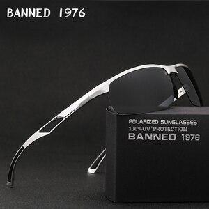 Image 1 - 2019ใหม่มาถึงอลูมิเนียมแว่นตากันแดดHD Polarizedเลนส์แว่นตาVintageแว่นตากันแดดOculosสำหรับผู้ชายชาย605