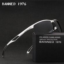 2019 nouveauté en aluminium marque hommes lunettes de soleil HD polarisé lentille Vintage accessoires lunettes lunettes de soleil Oculos pour hommes mâle 605