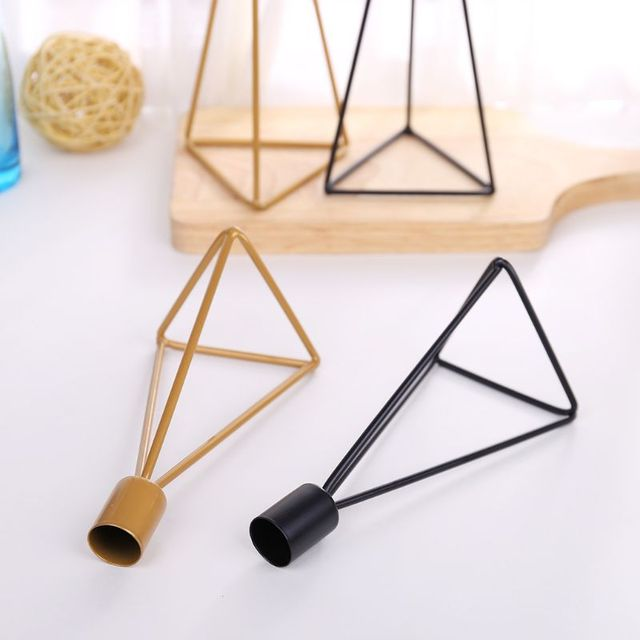 Geometric Candlestick Tealight Candle Holder Stand Wedding Party Decor 1