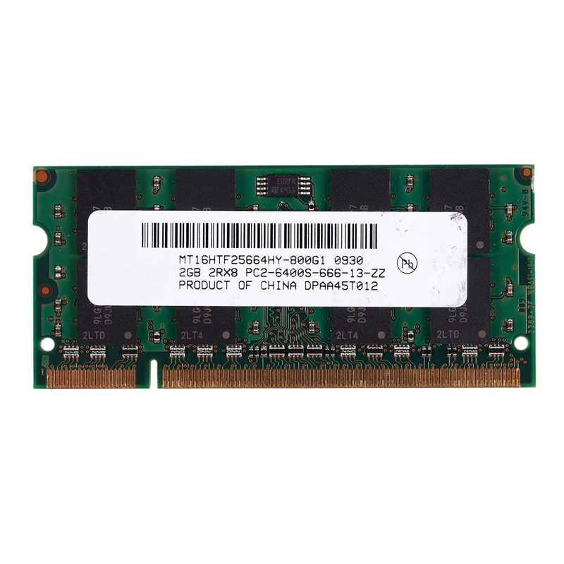 2GB <font><b>DDR2</b></font> PC2-6400 800MHz 200Pin 1.8V Laptop Memory SO-DIMM <font><b>Notebook</b></font> <font><b>RAM</b></font> image